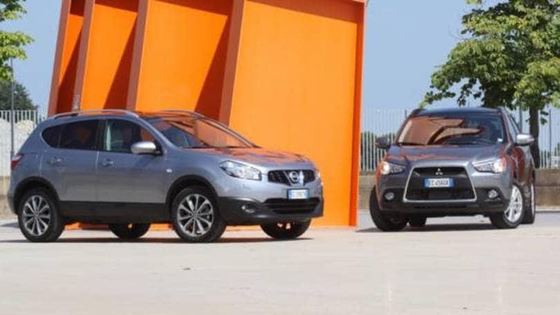 Schema Elettrico Nissan Qashqai : Mitsubishi asx e nissan qashqai auto