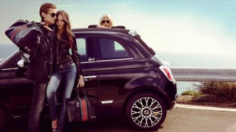 """9112bf8d63 Fiat """"500C by Gucci"""", cabriolet esclusiva - Auto.it"""