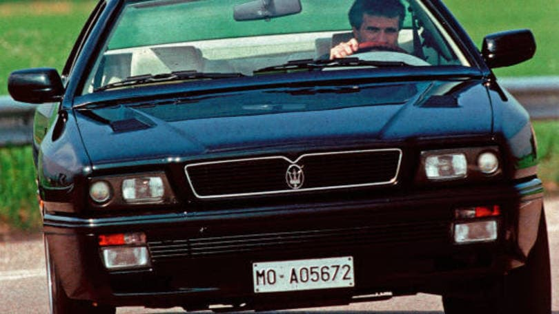 maserati, la ghibli del 1994, come era vent'anni fa - auto.it