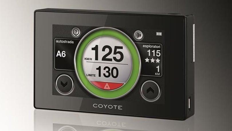 coyote autovelox