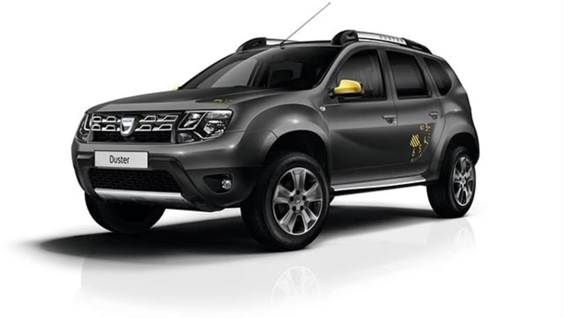 dacia duster e sandero limited edition. Black Bedroom Furniture Sets. Home Design Ideas