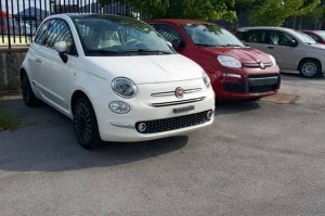 Fiat 500 restyling 2015