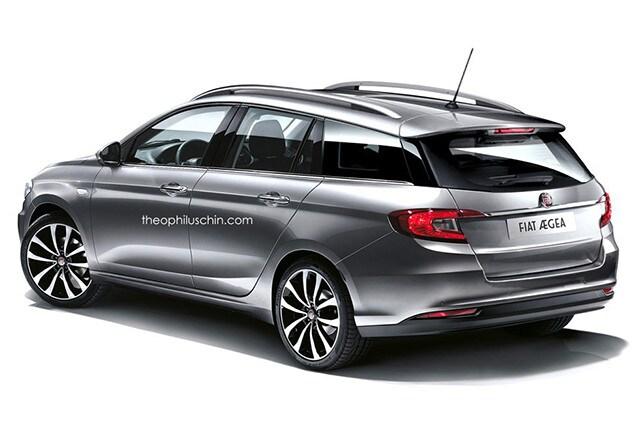 Fiat Aegea station wagon rendering
