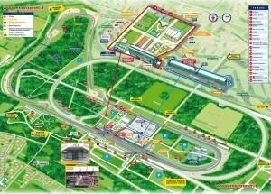 F1 GP Monza - Mappa Circuito