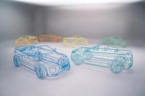 Range Rover Evoque cabrio, wireframe a Londra (7)