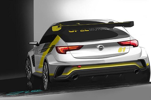 Opel Astra TCR, campionato turismo (2)
