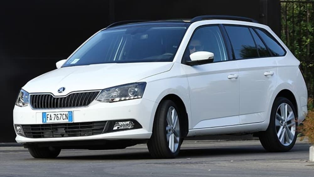 skoda fabia wagon 1 4 tdi prova su strada. Black Bedroom Furniture Sets. Home Design Ideas