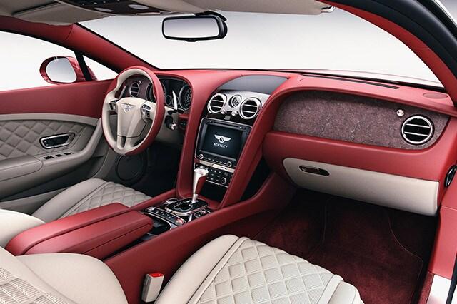 Bentley, rivestimenti interni in pietra (2)