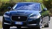 Jaguar XF 3.0 D, al top su strada: la prova