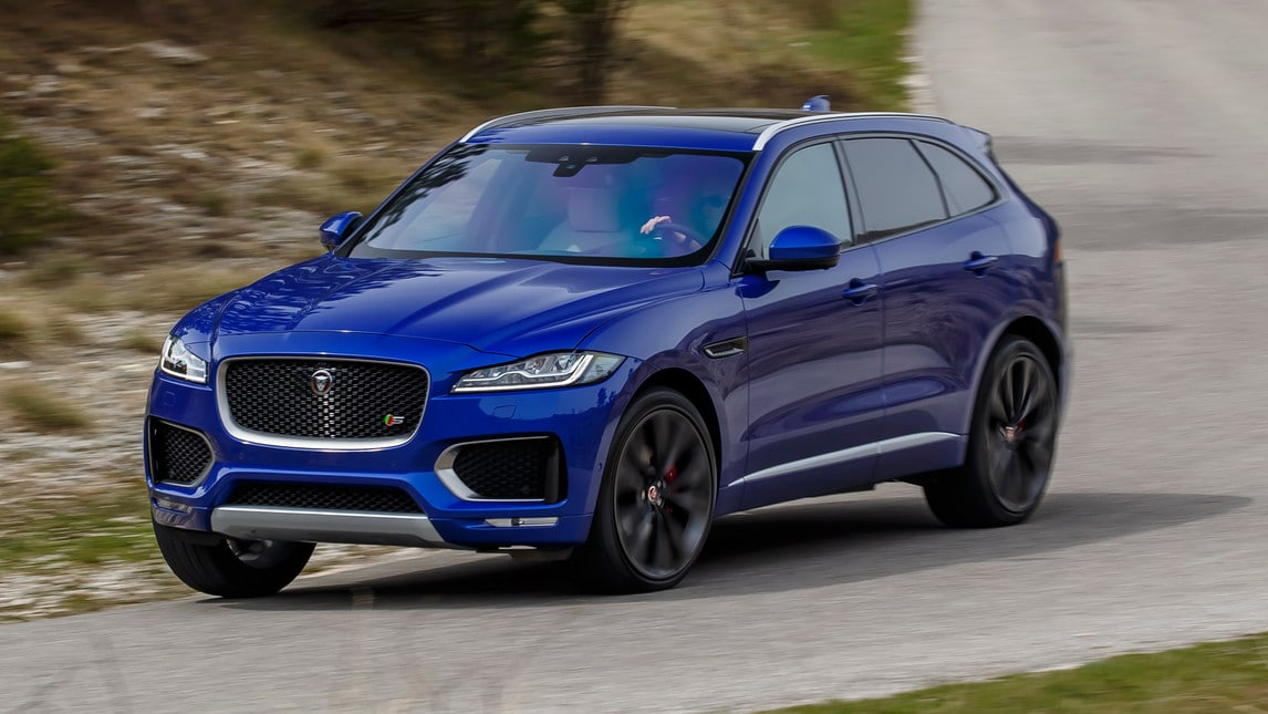 jaguar f pace tutte le info sul suv. Black Bedroom Furniture Sets. Home Design Ideas
