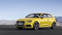 Audi A3, i prezzi del restyling 2016