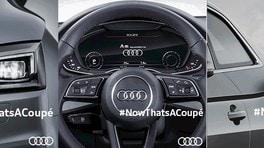 Nuova Audi A5, tre teaser anticipano le linee
