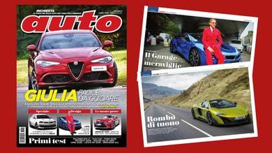 Auto in edicola, come va la nuova Alfa Romeo Giulia