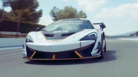 McLaren 570S Sprint, la GT da pista