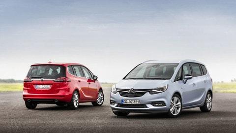 Nuova Opel Zafira: il restyling si fa connesso