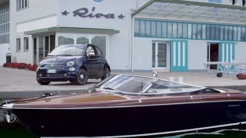 Riva e 500, mondo nautico e automobilistico