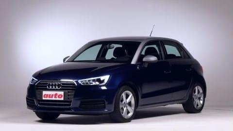 Audi A1 Sportback, la prova della berlina a forma compatta