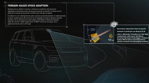 Land Rover studia il futuro dell'automazione in fuoristrada