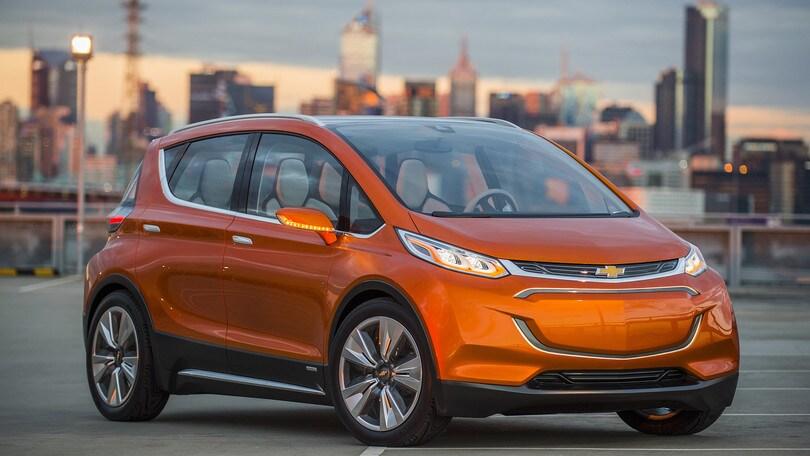 Chevrolet Bolt, la monovolume elettrica in produzione da ottobre