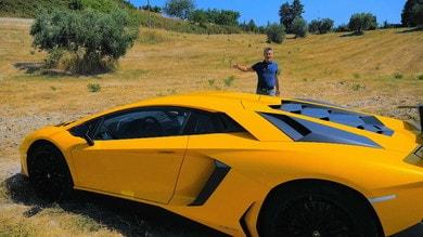Jimmy and Cars, la prova della Aventador SV