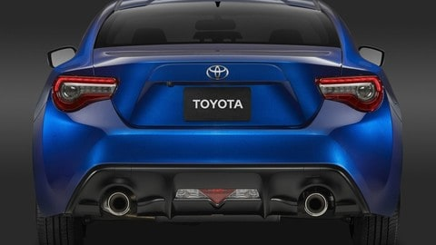 Nuova Toyota GT86: foto