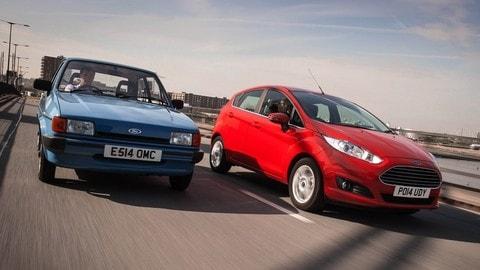 Ford Fiesta 40 anni: foto