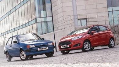 Ford Fiesta compie 40 anni e punta il record dei 20 milioni di esemplari
