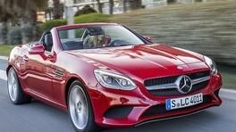 Mercedes SLC, primo contatto: 1.600 cc posson bastare