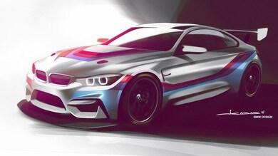 BMW M4 GT4, in pista nel 2018
