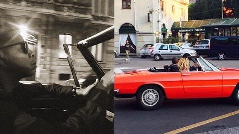 Alfa Romeo Duetto e Beyoncé: foto
