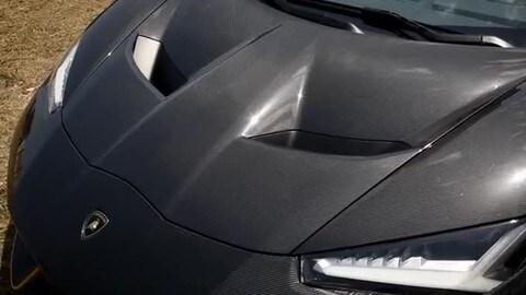 Lamborghini Centenario testata a Nardò