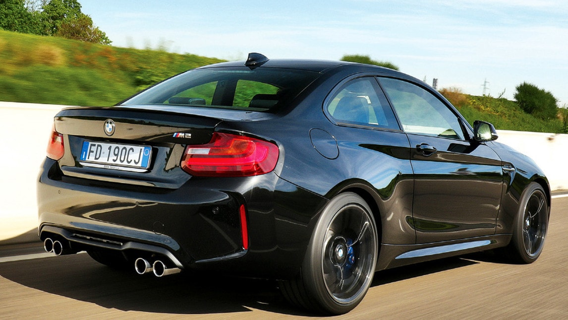 Bmw m2 nuova nera e cattiva la prova for A m motors