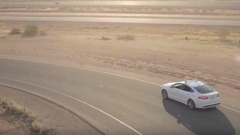 Ford, nel 2021 il primo modello a guida autonoma