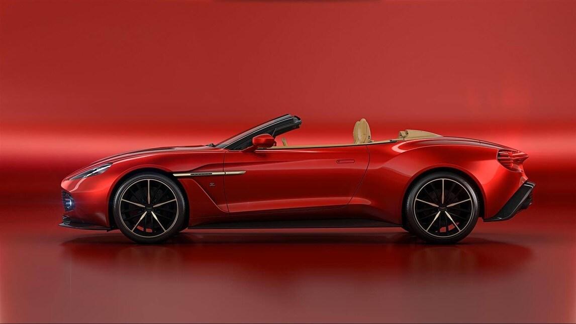 Aston Martin Vanquish Zagato Volante: foto