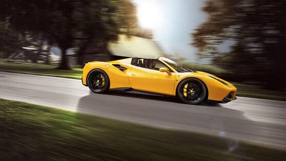 Ferrari 488 Spider Novitec Rosso: quota 342 km/h
