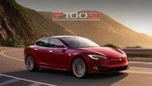 Tesla Model S P100D, con la nuova batteria scatta come una 918 Spyder