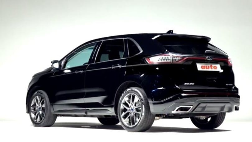 ford edge sport la video prova del suv. Black Bedroom Furniture Sets. Home Design Ideas