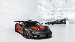 McLaren P1 GTR, colori da F1