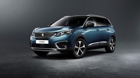 Nuova Peugeot 5008: foto