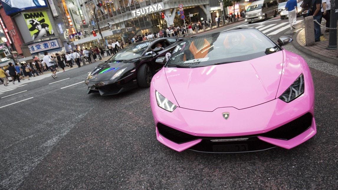 Lamborghini Tokyo Drift