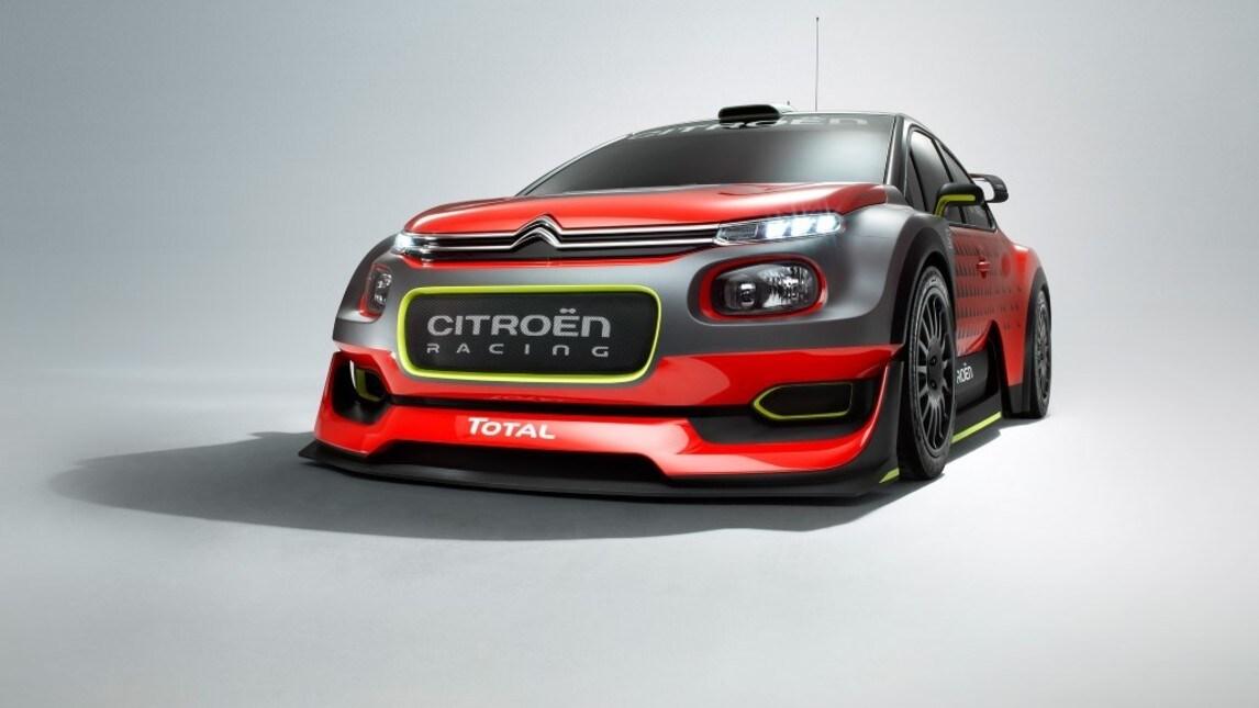 Citroen C3 WRC Concept: le foto