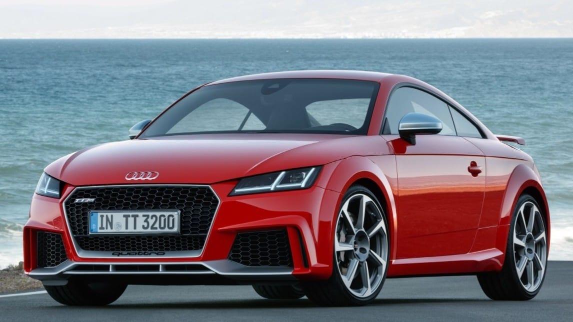 Audi TT RS: foto