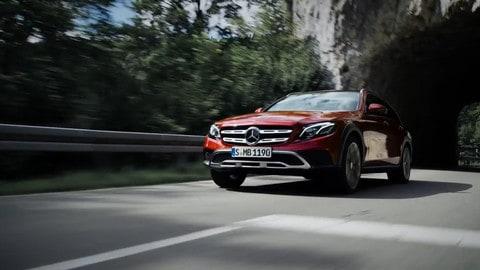 Nuova Mercedes Classe E All Terrain, la familiare per l'offroad