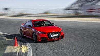 Audi TT RS seconda generazione: il 5 cilindri più potente che mai