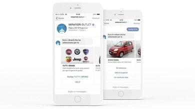 FCA, ora le auto aziendali si comprano via Messenger