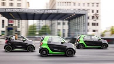 Smart triplica l'offerta elettrica al Salone di Parigi