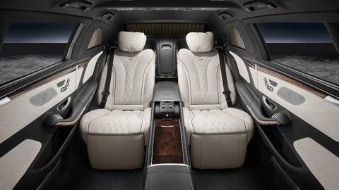 Mercedes-Maybach Pullman S600 blindata, le foto