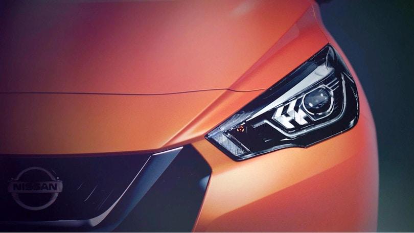 Nissan MIcra al Salone di Parigi