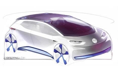 Volkswagen EV Concept: foto