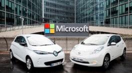 Accordo Nissan-Renault e Microsoft per auto connesse entro il 2020